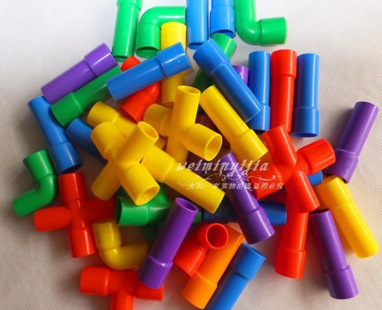 venta al por mayor potencial inteligente de plstico de escritorio tubo tnel bloques de construccin
