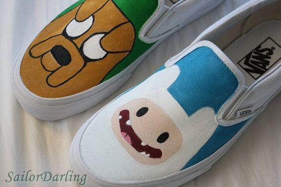ba9704985e Jake and Finn  adventuretime  vans