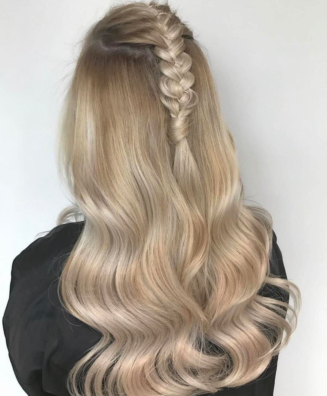 Can we just obsessed with this look by jadecarthyhair using so obsessed with this look by using our clip ins range shade coachella blonde pmusecretfo Images