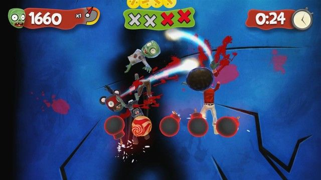 Slice Zombies for Kinect available to download now on Xbox