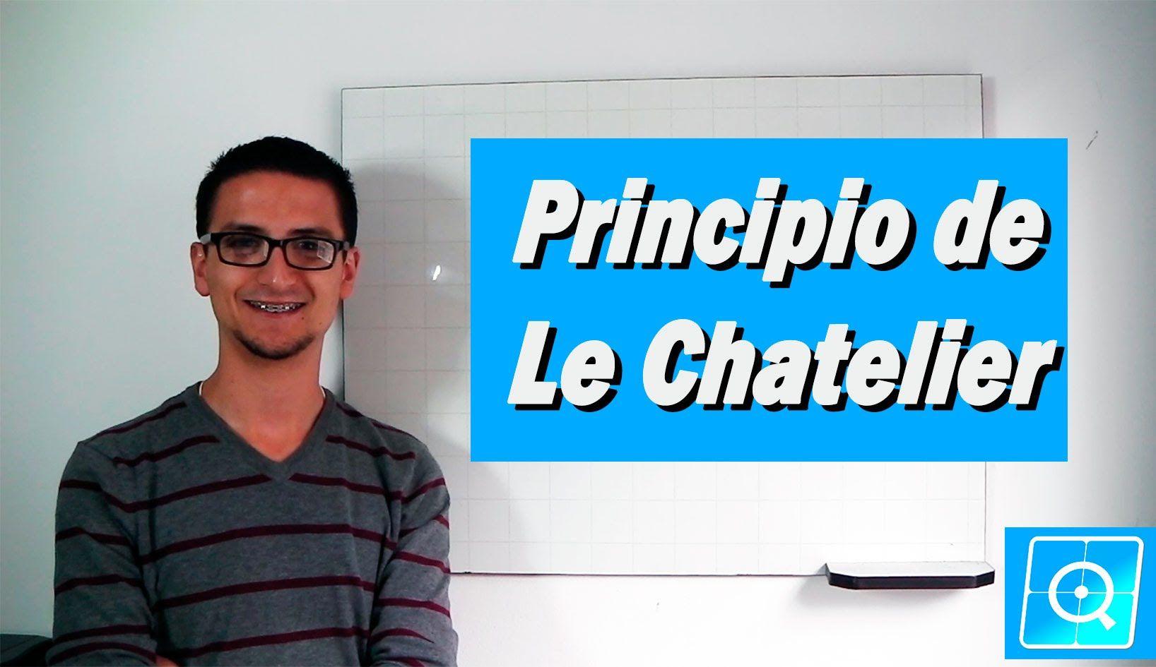 Equilibrio Quimico Principio De Le Chatelier