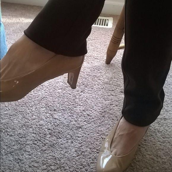 Stuart Weitzman Pumps *Patten Leather   *Adobe   *Excellent Condition Stuart Weitzman Shoes Heels