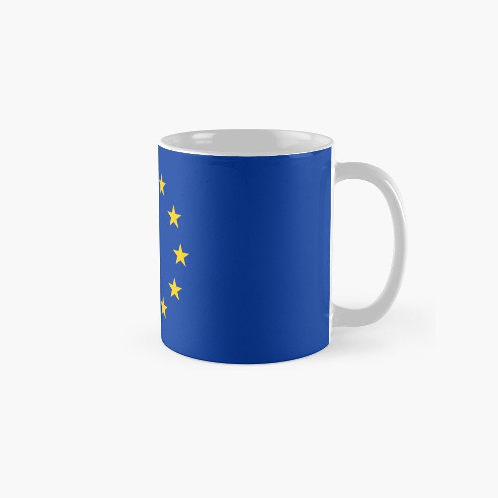 European Union Eu Flag Mug By Argosdesigns Mugs Flag Gift Flag