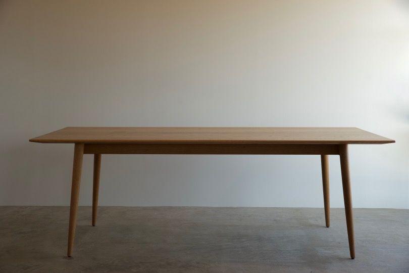 Ch23とダイニングテーブル Works 無垢材のオーダー家具は 長野県