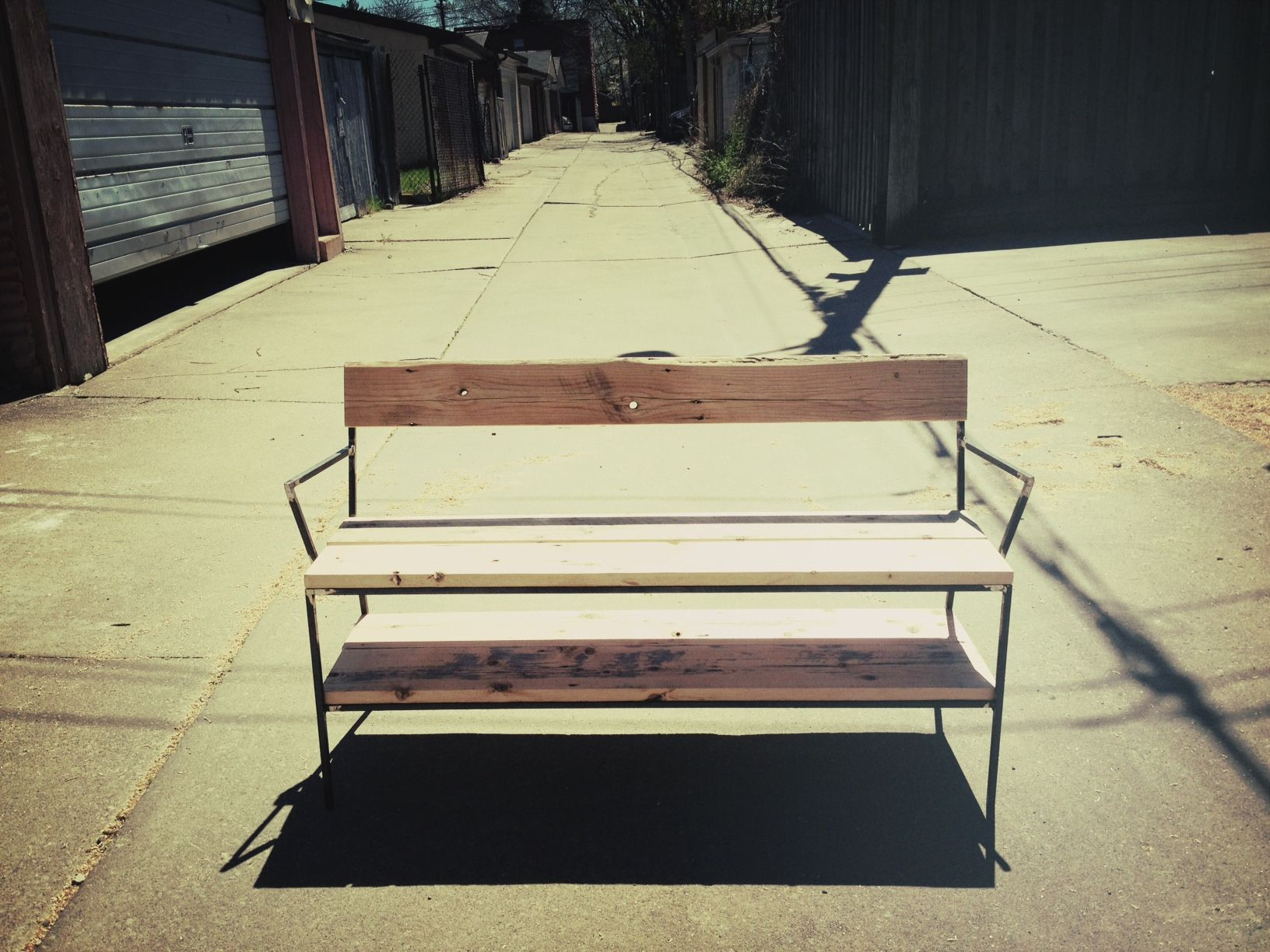 JM all new double decker bench. Hand crafted and awesome!