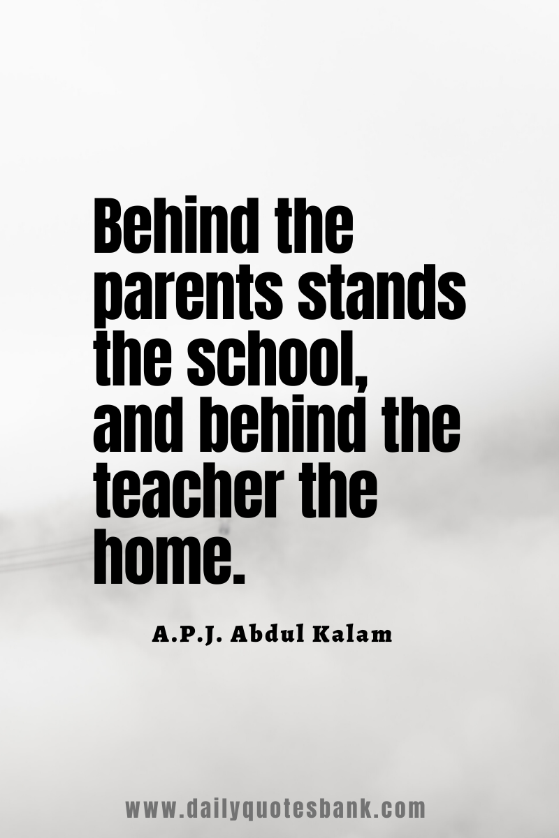 Motivational Apj Abdul Kalam Quotes On Students Teachers Education Dreams Success Story In 2020 Teacher And Student Quotes Teacher Quotes Funny Quotes For Students