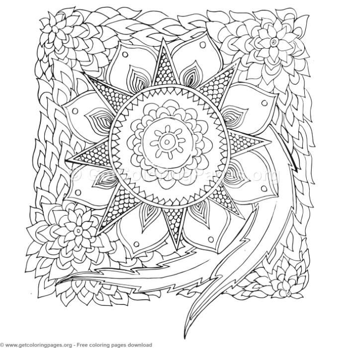 27 zentangle patterns coloring pages getcoloringpages org coloring coloringbook coloringpages