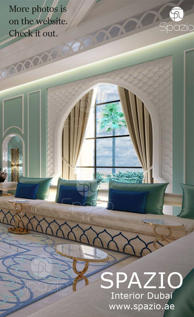 Perfect Luxury Arabic Majlis Interior Design In Andalusian Style In Dubai House The Majl Moroccan Style Interior Moroccan Decor Living Room Moroccan Interiors
