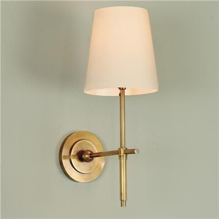 Bath Sconces With Shades soho sconce | soho, lights and wall sconces