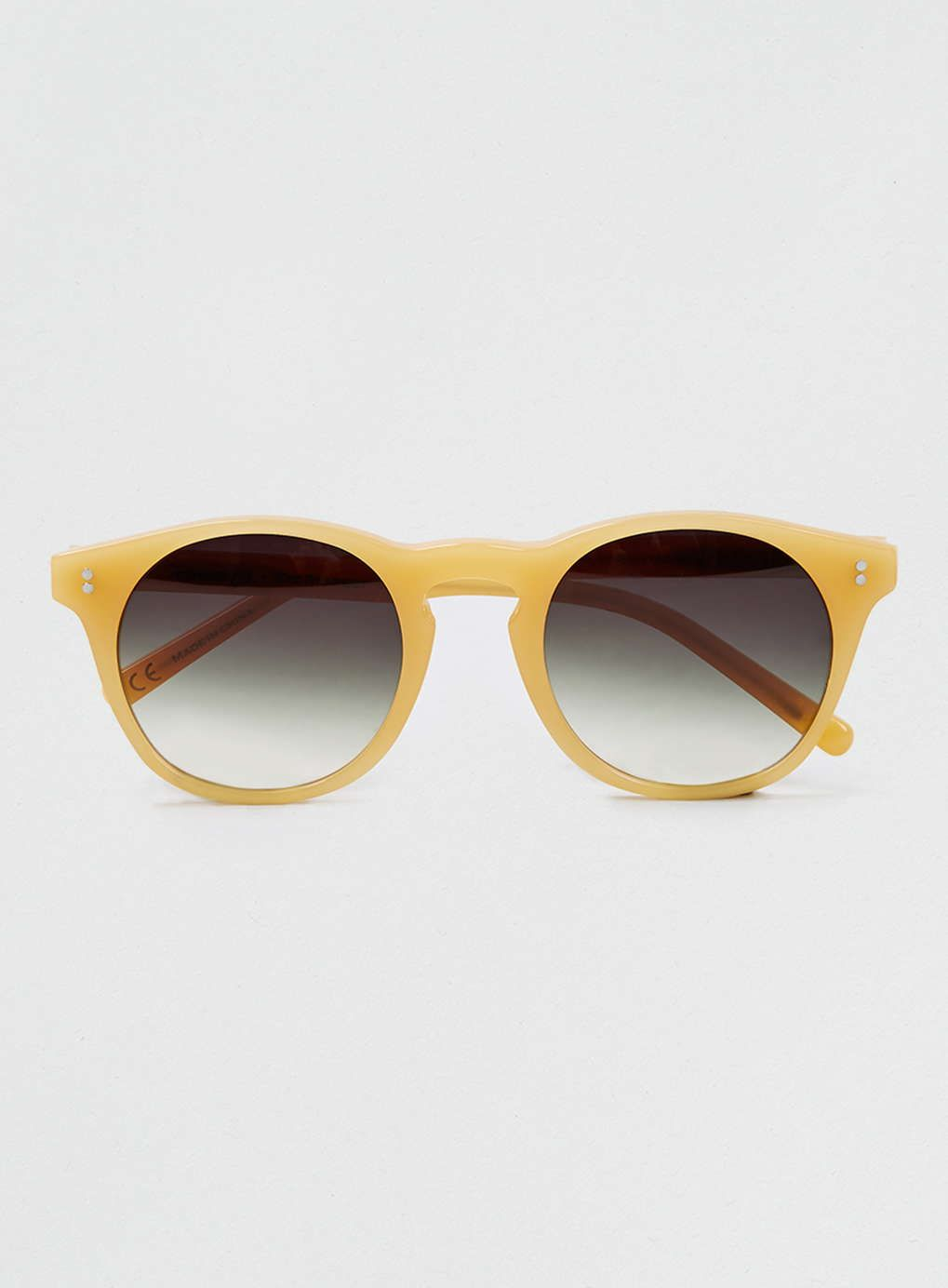Topman LTD x Eye Respect ombre caramel sunglasses