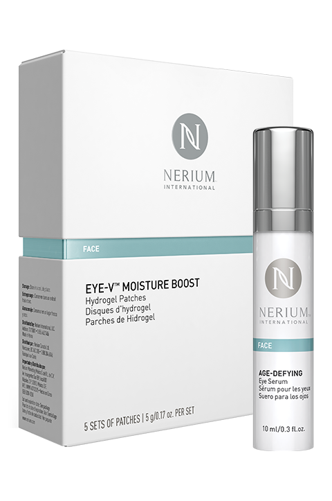 Eye Serum & Eye-V Moisture Boost Patch Combo Pack #ilovemyskincare dixiewiley.nerium.com
