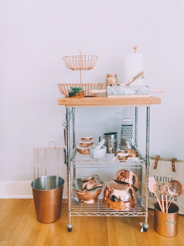 Copper kitchen styling - Martha Stewart, TJ Maxx, Macy\'s, HomeSense ...