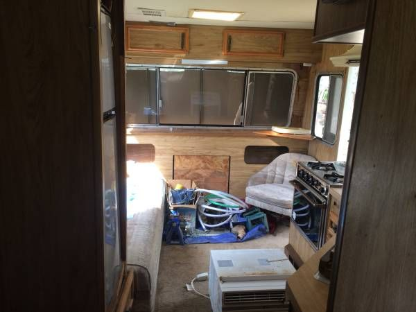 1981 Traveleze Truck Bed Camping Travel Trailer Truck Bed