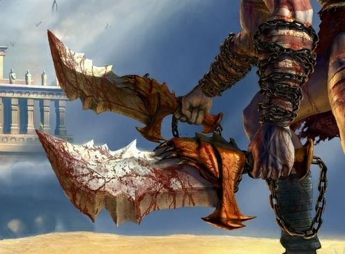 Blades Of Chaos God War Series