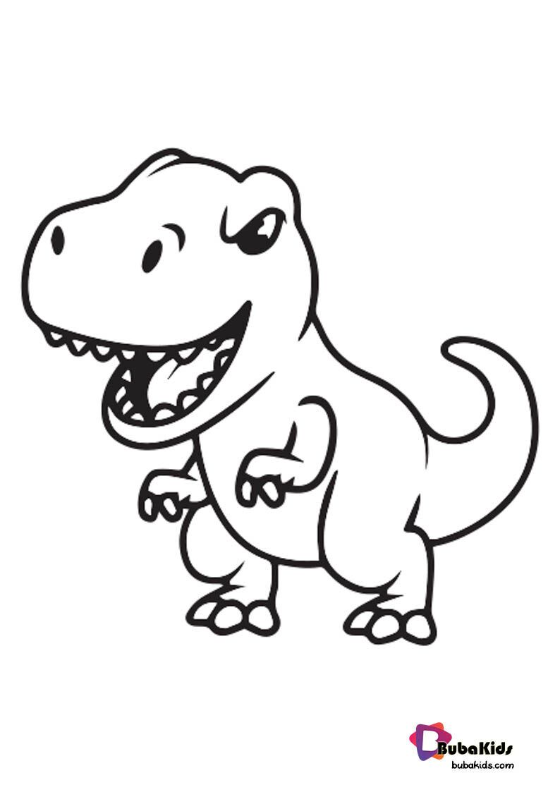 Kids Dinosaurs T Rex Coloring Page Printable Free Dinosaur Coloring Pages Coloring Pages Free Coloring Pages