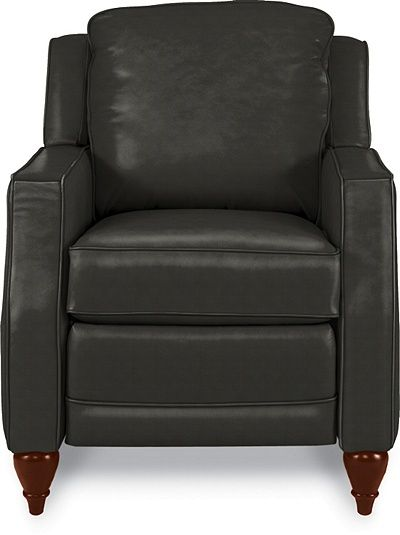 Dane Low Profile Recliner By La Z Boy Black Leather A Little Bulkier Than What I Was Looking For But Could Work
