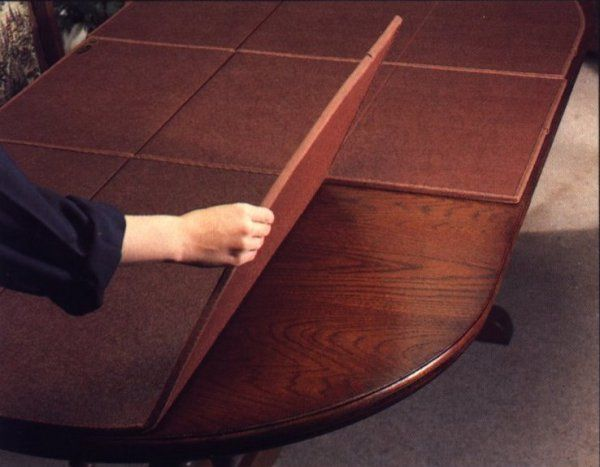 Dining Room Table Protective Pads Enchanting Best Dining Room Table Padsprotects Tabletops From Heat And Decorating Inspiration