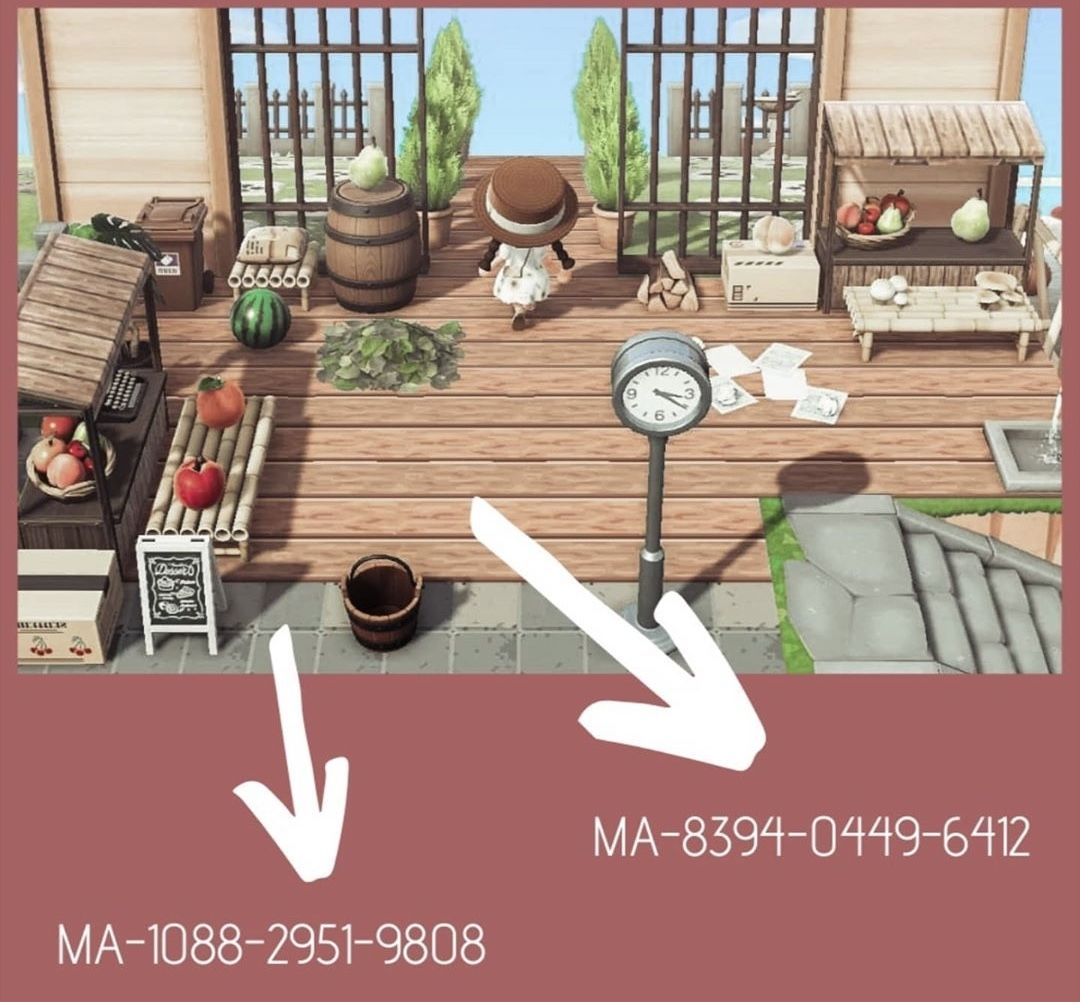 ANIMAL CROSSING New Horizons Designs - wood and rock tiles ... on Animal Crossing New Horizons Wood Design  id=28265