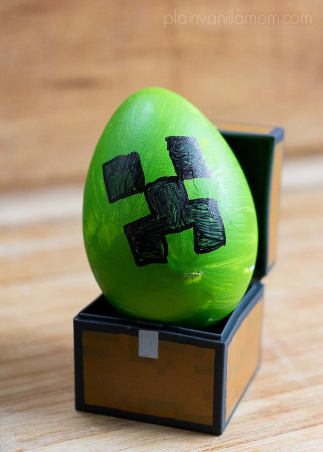 Decorating Minecraft Easter Eggs Plain Vanilla Mom Minecraft Easter Eggs Creative Easter Eggs Easter Eggs