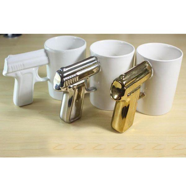 Pistol Cup Gun Wholesale Handle Coffee PiuOkXZT
