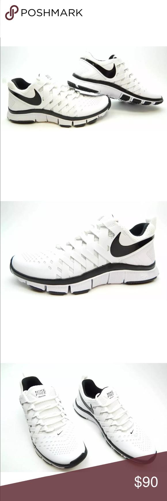31ba5bcc2e0d2 NIKE FREE TRAINER 5.0 TB WHT BLK 579811-100 SZ 10 Nike Men s Free ...