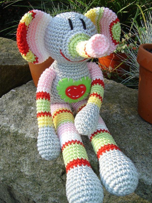 Gestatten: Rosine - Rosine Elefant   Patrones Amigurumi   Pinterest ...