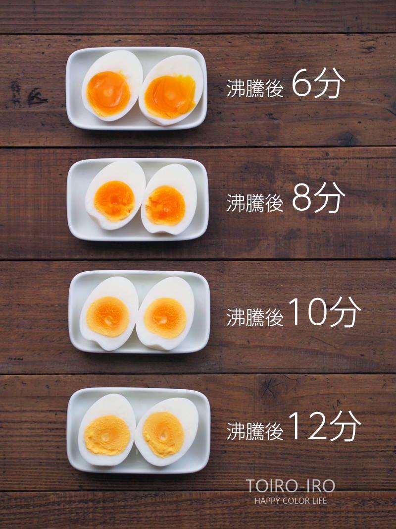 茹で 時間 卵 ゆで