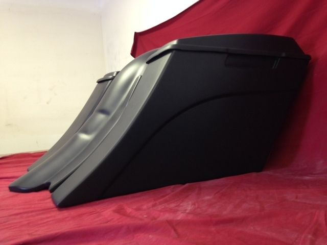 Harley Davidson 6 Extended Stretched Saddlebags Down And Out