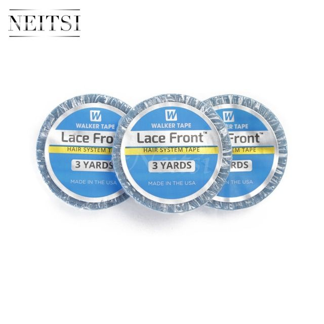 Neitsi Walker Tape Lace Front Hair System US Double Side Adhesive For Skin Weft Extensions