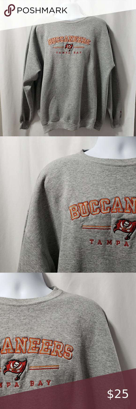 Retro Champion Crewneck Tampa Bay Bucs Nfl Xl Vintage Crewneck Sweatshirt Champion Crewneck Vintage Sweatshirt [ 1740 x 580 Pixel ]