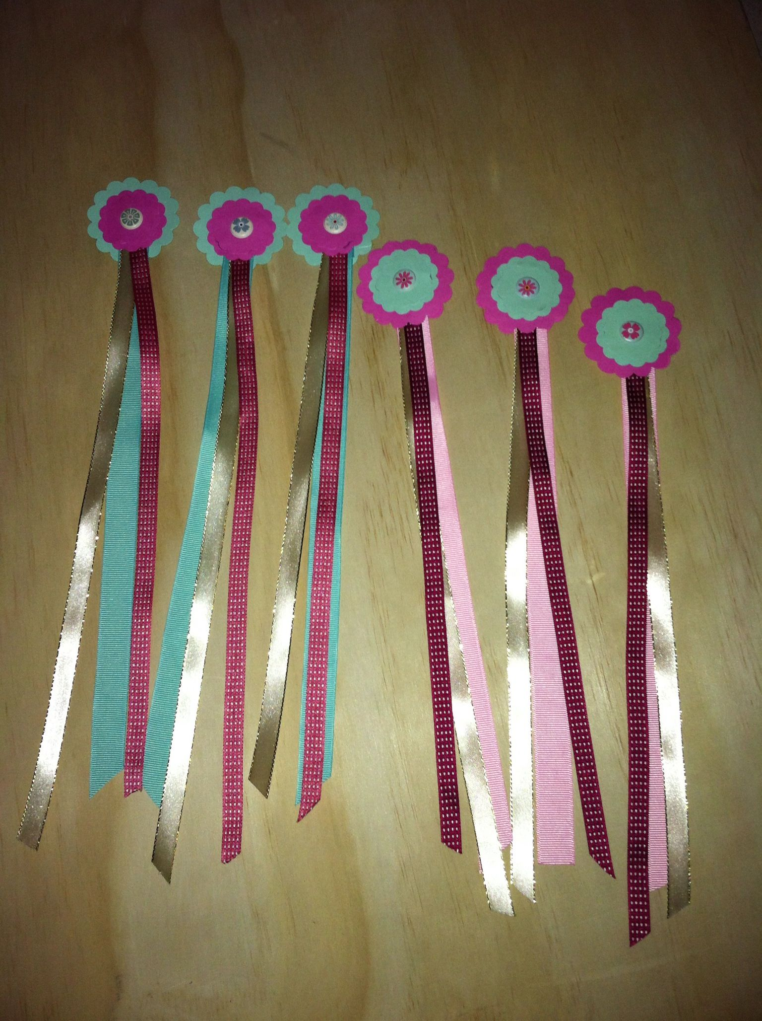 Handmade Ribbon Bookmarks