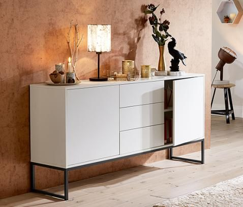 sideboard wei online bestellen bei tchibo 321800 decoration in 2019. Black Bedroom Furniture Sets. Home Design Ideas