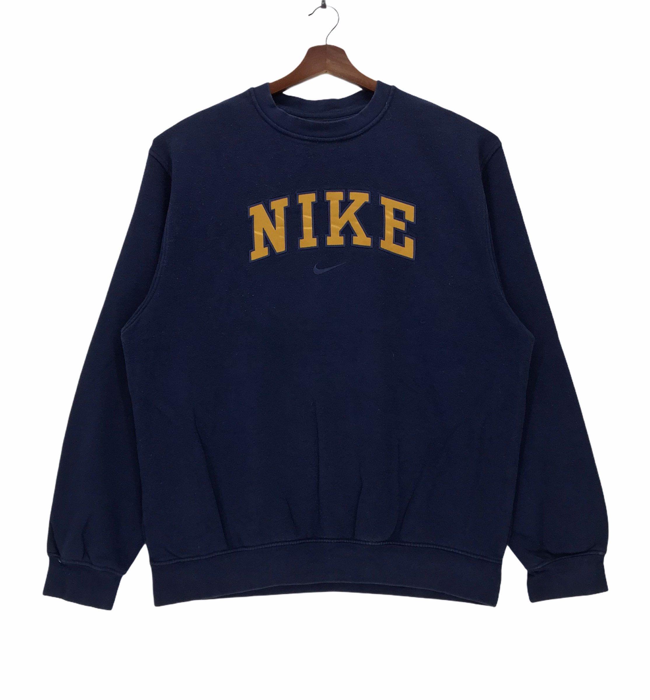 Y2k Blue Nike Vintage Sweatshirt Embroidery Nike Spellout Big Etsy Sweatshirts Nike Crewneck Sweatshirt Nike Crewneck [ 2400 x 2228 Pixel ]