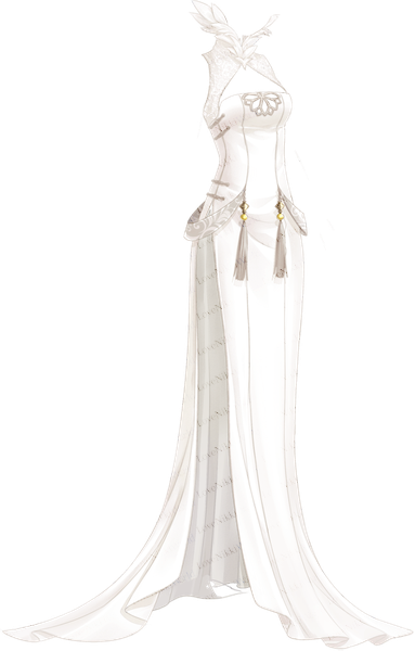 Snow Lotus Elf • Love Nikki Database (With images) Dress