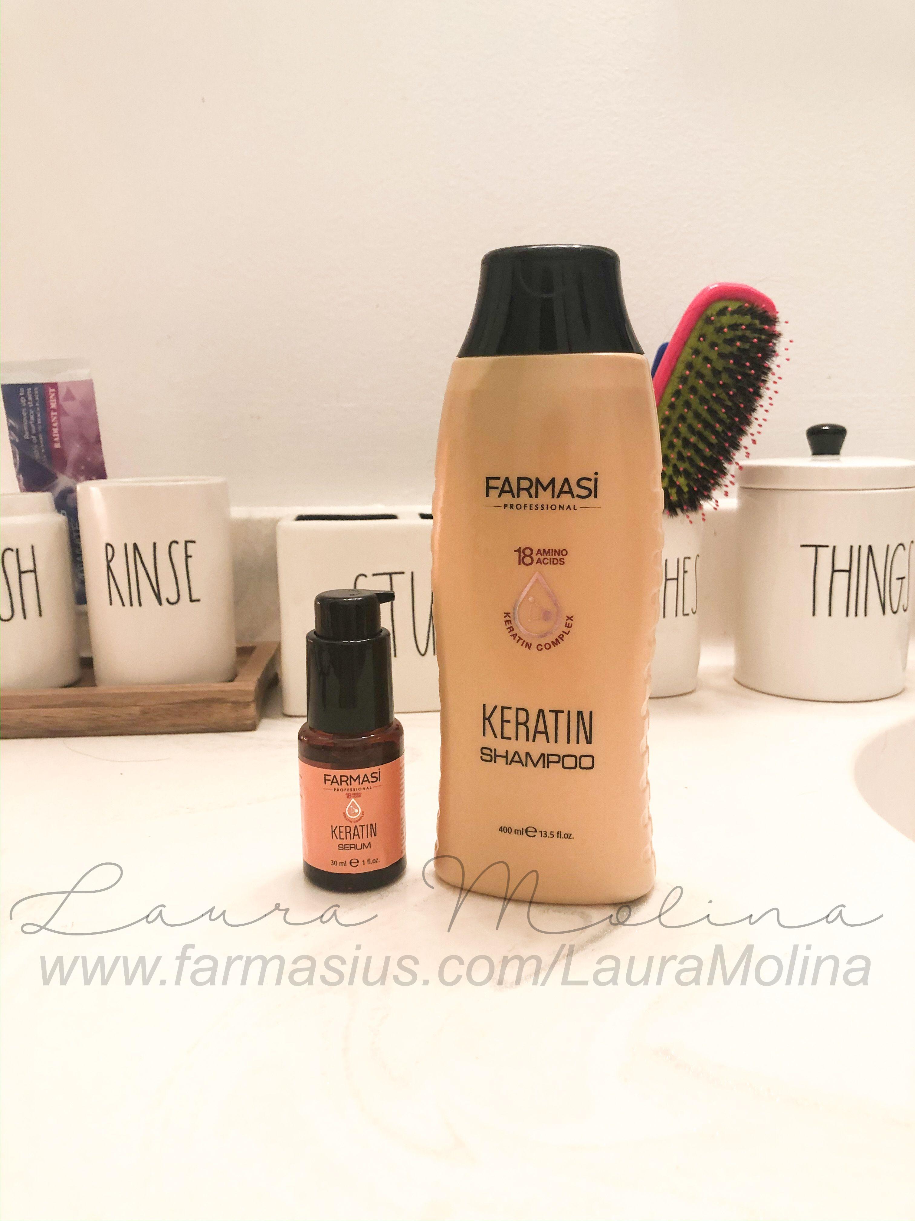 Pin by Laura Molina on Farmasi in 2020 Keratin, Shampoo