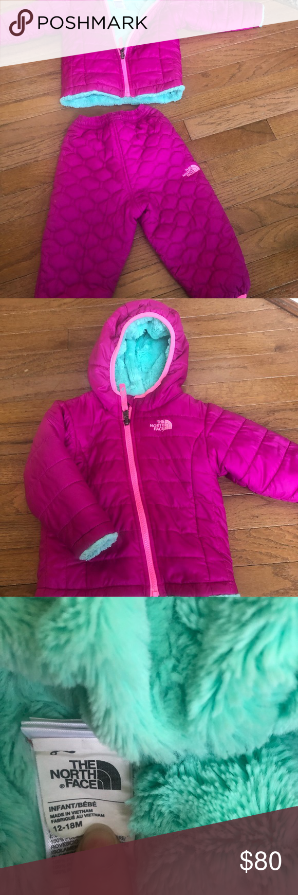 North Face Thermoball Set Great Condition Very Gently Used Toddler North Face Coat And Matching Winter Pants North Face Coat Winter Pants North Face Jacket [ 1740 x 580 Pixel ]