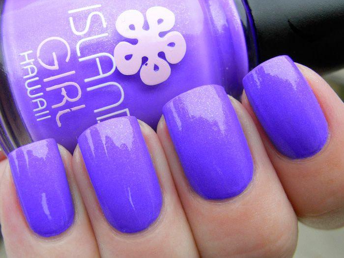 Island Girl Aloha Luau - nailXchange | Nail Polish Swatches ...