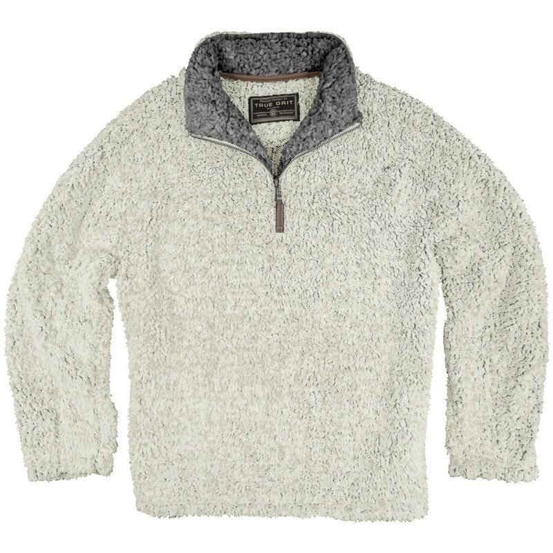 True Grit Frosty Tipped Pile ¼ Zip Fleece Pullover - Alabama ...