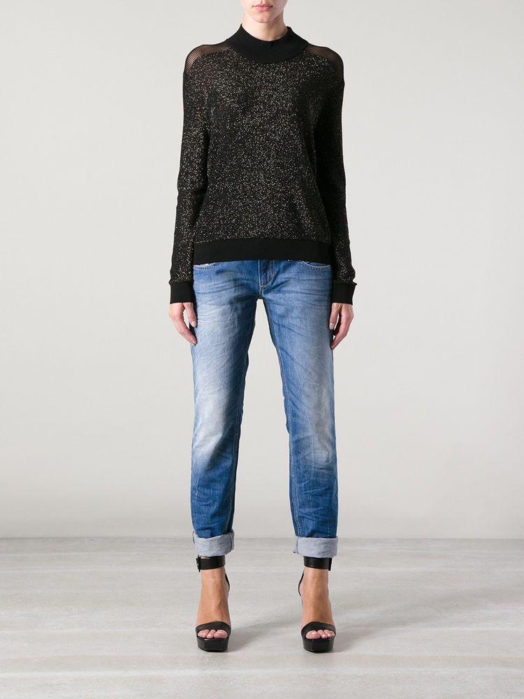fc5c995e Diesel LOWKY 008YE jeans W27 L32 uk 8-10 Low rise SLIM leg Vintage women