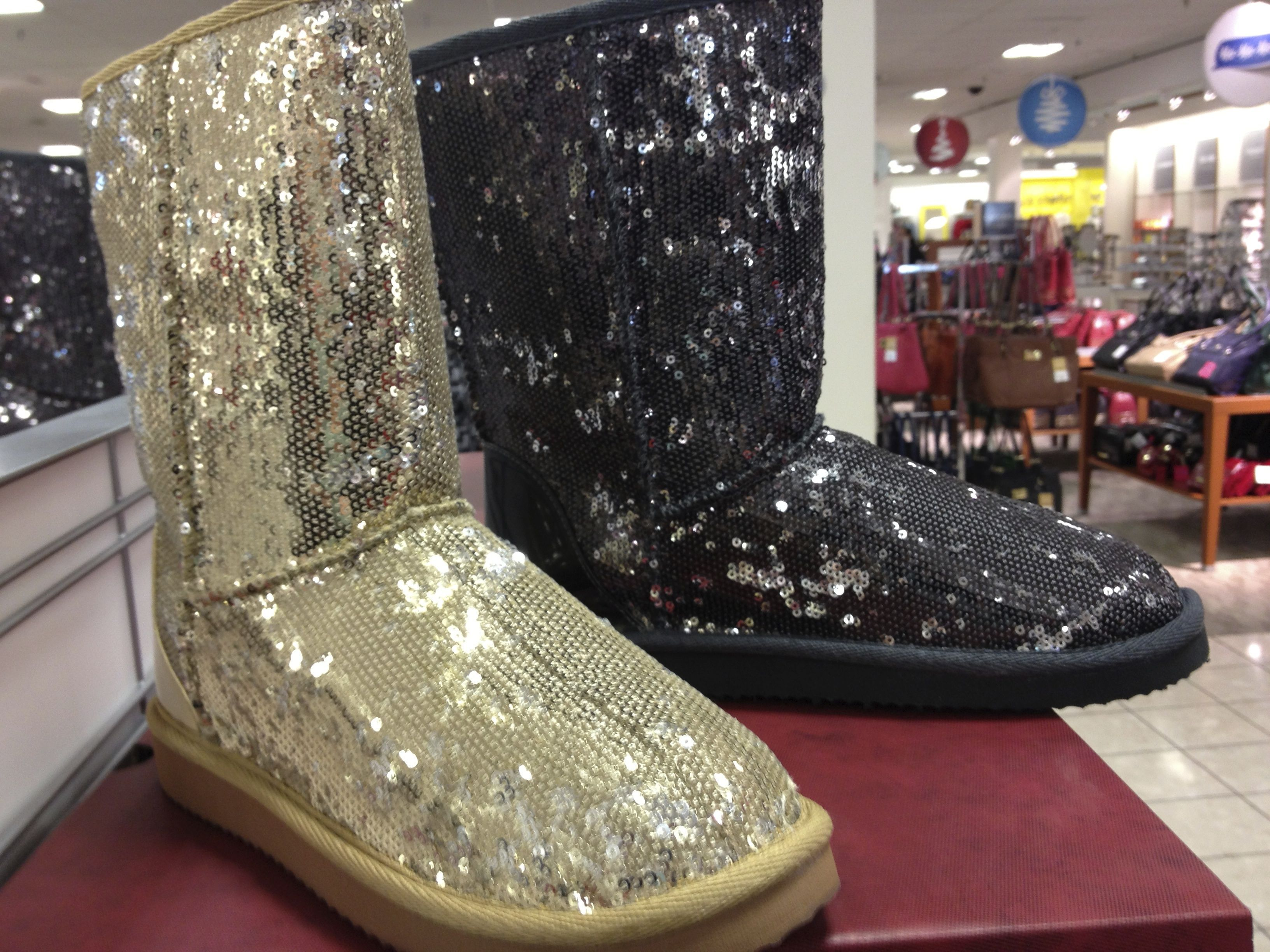 For Those Dressy Holiday Events When Only Formal Uggs Will