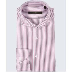 Smart shirt Lano-W in white-red striped windsorwindsor#lanow #shirt #smart #striped #white #whitered #windsorwindsor