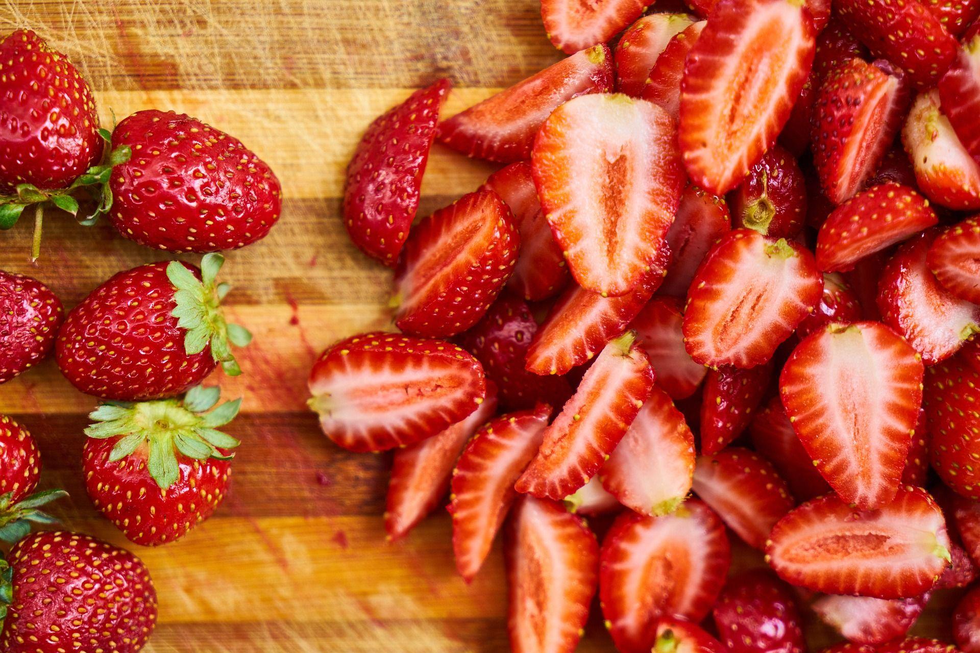 Free Image on Pixabay - Strawberry, Fruit, Red, Background ...