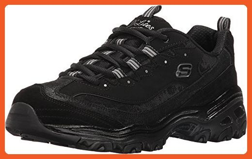 ea00287c76347 SKECHERS Women's D'Lites - Counting Stars Black Athletic Shoe ...