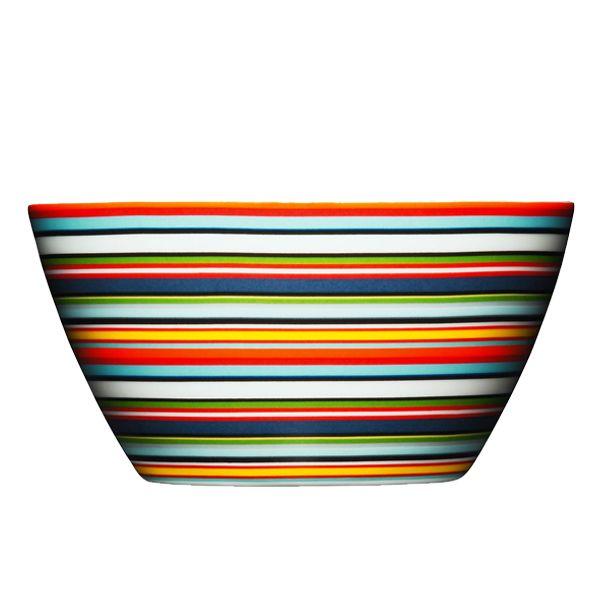 Origo cereal bowl, orange