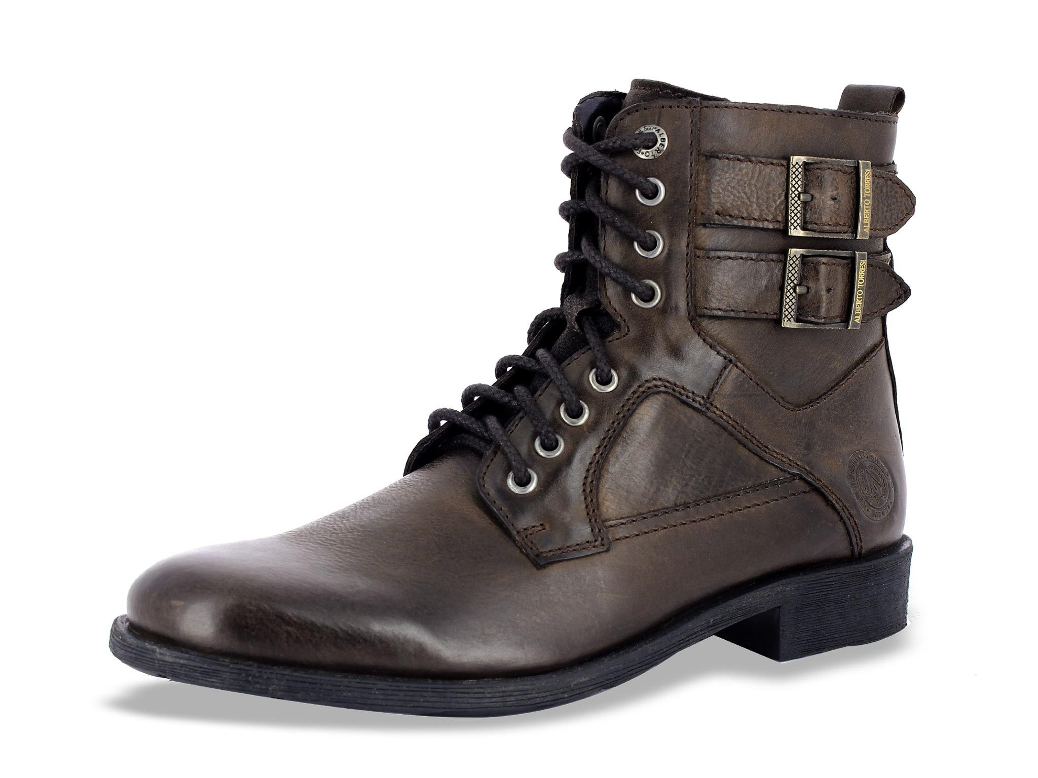 9710e6dfd5d Alberto Torresi Niccolaio Brown Ankle Boots for Men | For the happy ...