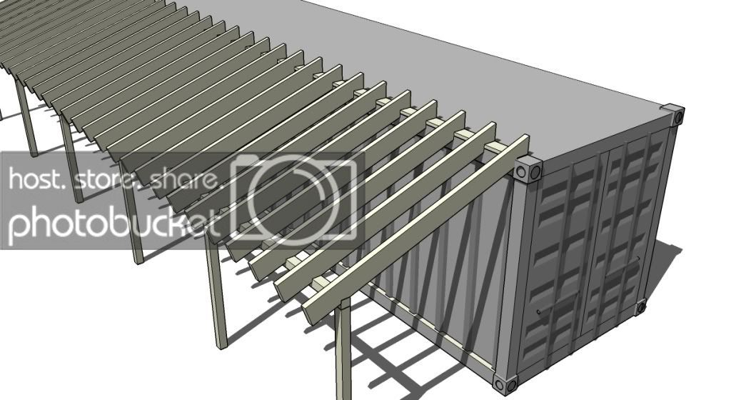 Adding Shed Roof On Side Of Shipping Container Prefab Shipping Container Homes Container House Shipping Container