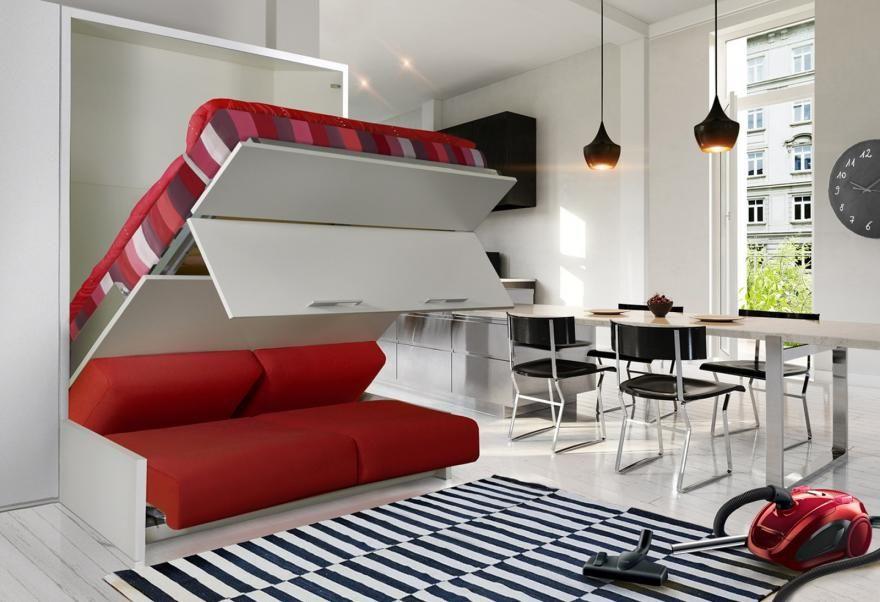 Les Lits Escamotables Stars Des Petits Espaces Lit Escamotable Canape Lit Escamotable Ikea Lit Mural Ikea
