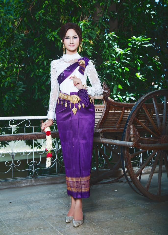 khmer wedding costume | cambodia/khmer wedding dress | Pinterest
