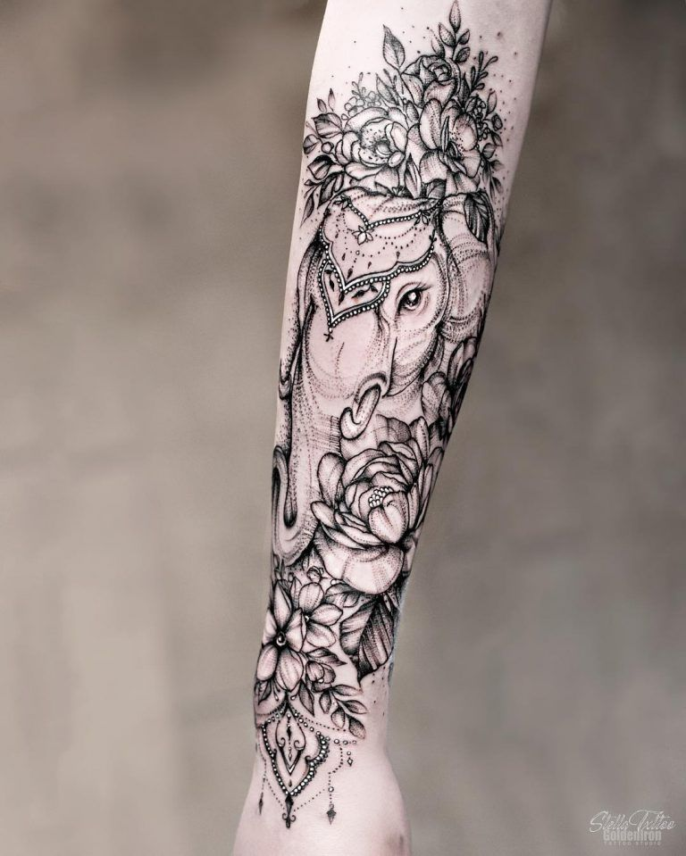 90 Magnificent Elephant Tattoo Designs Page 9 Of 9 Tattooadore Sleeve Tattoos For Women Elephant Tattoo Design Tattoos