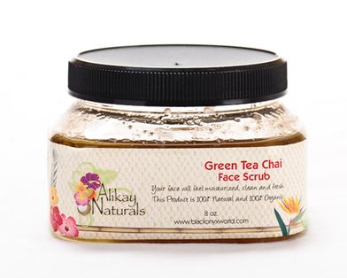 Green Tea Chai Face Scrub 8oz
